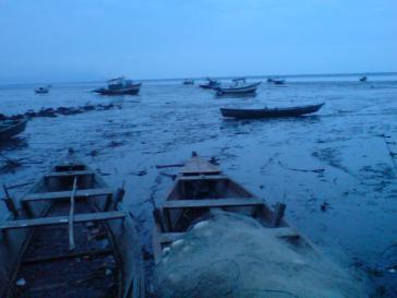 Trügerische Idylle - Boote in der Bucht von Sepetiba