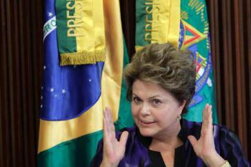 """Als """"Verletzung der Souveränität"""" Brasiliens bezeichnete Präsidentin Dilma Rousseff die mögliche US-Spionage"""