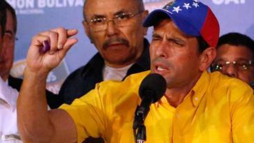 Knapp unterlegen: Henrique Capriles verlor die Wahl gegen Nicolás Maduro mit rund 224.000 Stimmen
