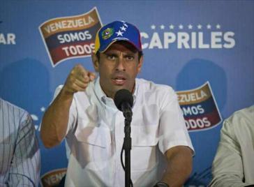 Zunehmend aggressiv: Henrique Capriles