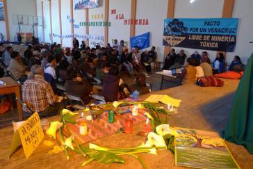 """Mesoamerikanisches Treffen """"Ja zum Leben, nein zum Bergbau"""" in Oaxaca"""