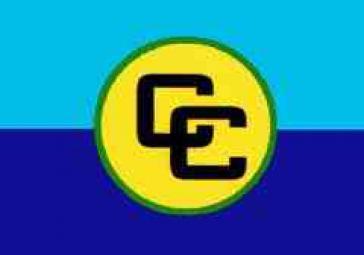 Fahne der Karibikgemeinschaft CARICOM
