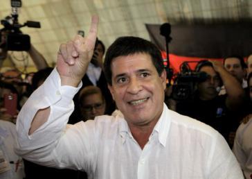 Horacio Cartes, der neue Präsident Paraguays