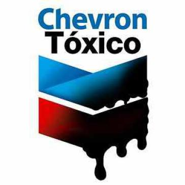 Logo der Kampagne in Ecuador für die Bestrafung von Chevron