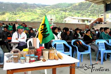 Auf dem vierten Landestreffen des Coordinador Nacional Agrario (CNA)