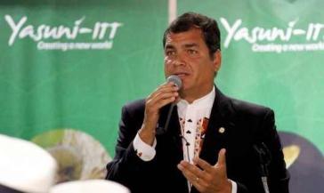 Ecuadors Präsident Rafael Correa