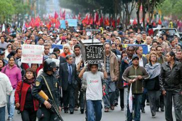 Demonstration in San José
