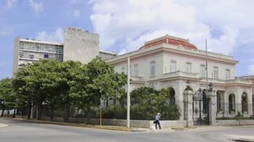 Sitze des kubanischen Außenministeriums