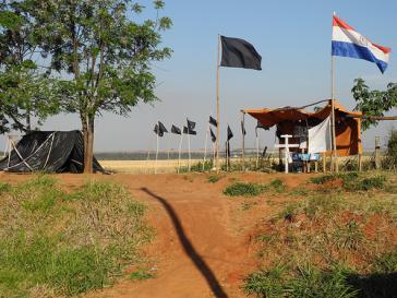 Gedenkstätte für die Opfer des Massakers von Curuguaty