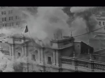 Am 11. September 1973 bombardiert die Armee Chiles den Präsidentenpalast Moneda