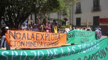 An der Protestaktion beteiligten sich mehrere Organisationen aus allen Teilen des Landes