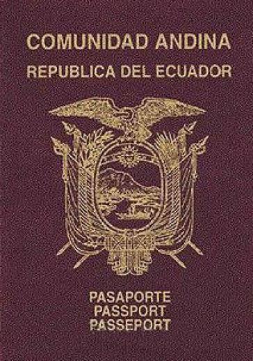Ecuadorianischer Reisepaß