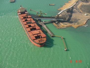 Verladehafen für Steinkohle aus dem kolumbianischen Tagebau El Cerrejón