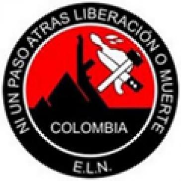 Logo der ELN-Guerilla in Kolumbien