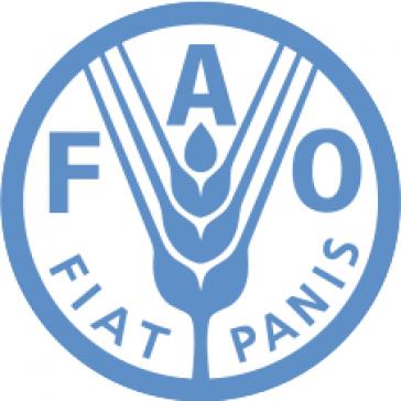 """Inschrift im FAO-Logo: """"Es werde Brot"""""""