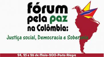 Logo des Forum für den Frieden in Kolumbien