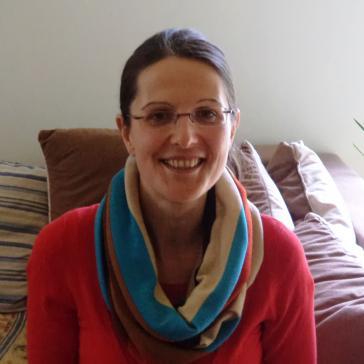 Petra Langheinrich. Mitarbeiterin des kolumbianischen Anwaltskollektivs CAJAR.