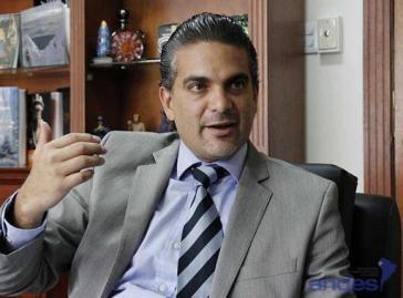 Francisco Rivadeneira, der ecuadorianische Minister für Außenhandel.