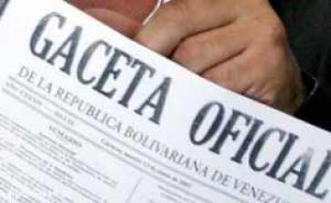 Das Dekret zum Kündigungsschutz wurde in der Gaceta Oficial vom 27. Dezember 2012 bekannt gegeben