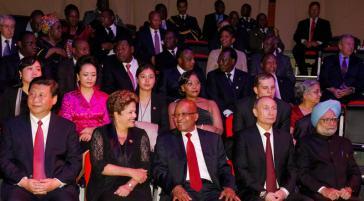 Staatschefs der BRICS-Staaten in Durban