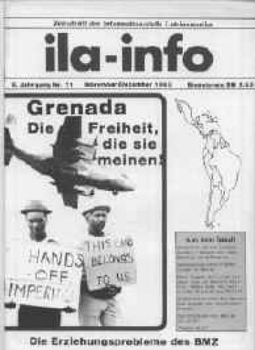 Die ila 73 berichtete 1983 über die US-Invasion in Grenada