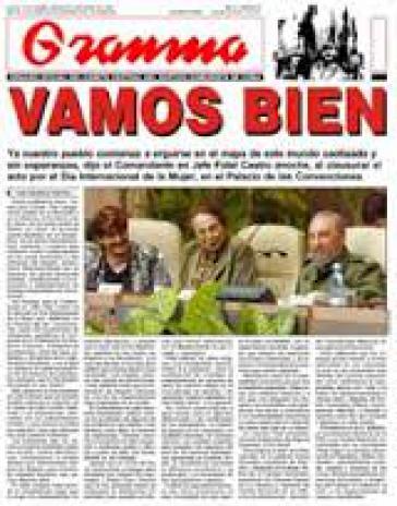 Zentralorgan der Kommunistischen Partei Kubas mit neuem Chefredakteur: Pelayo Terry