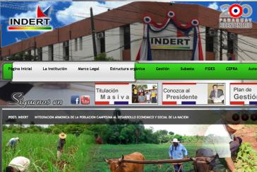 Homepage des Landinstituts INDERT: Ist die Institution in Stimmkauf verwickelt?