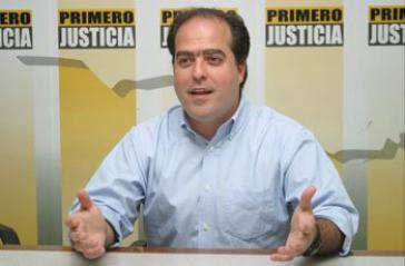 Ruft zu Protesten auf: Oppositionspolitiker Julio Borges