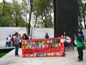 Mexiko: Protest gegen das Verschwindenlassen