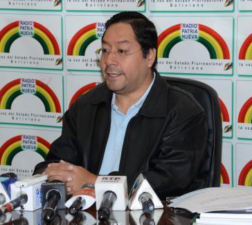Boliviens Minister für Wirtschaft und öffentliche Finanzen, Luis Arce