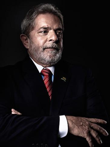 Luiz Inácio Lula da Silva, Gründungsmitglied der brasilianischen Arbeiterpartei (Partido dos Trabalhadores, PT) und Präsident Brasliens von 2003 bis 2010