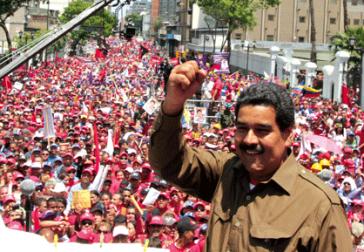 Nicolás Maduro in Caracas