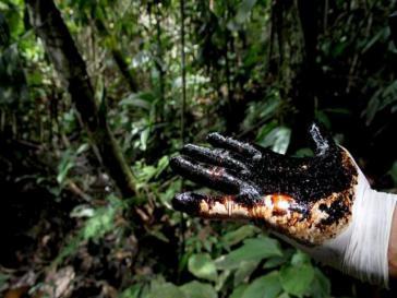 Folgen der Erdölförderung von Chevron in Ecuador