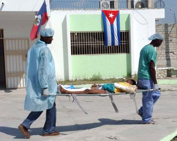 Kubas Gesundheitsbrücke nach Haiti