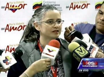 Venezuelas Gesundheitsministerin Isabel Iturria