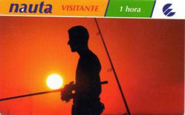 Nauta-Internetkarte des Unternehmens Etecsa