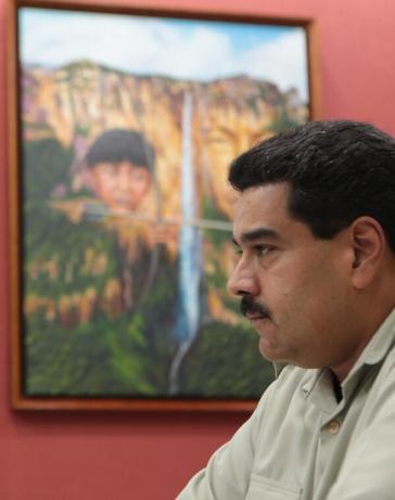 """Maduro: """"USA führen Wirtschaftskrieg"""""""
