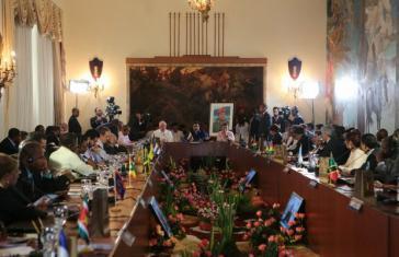 Beim 7. Gipfeltreffen von Petrocaribe am vergangenen Wochenende in Caracas