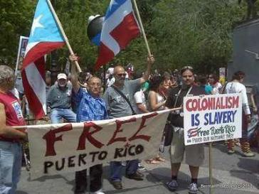 Kundgebung für die Unabhängigkeit Puerto Ricos