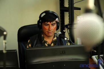 Indigene, afro-ecuadorianische und soziale Organisationen werden beim Aufbau von Radios unterstützt