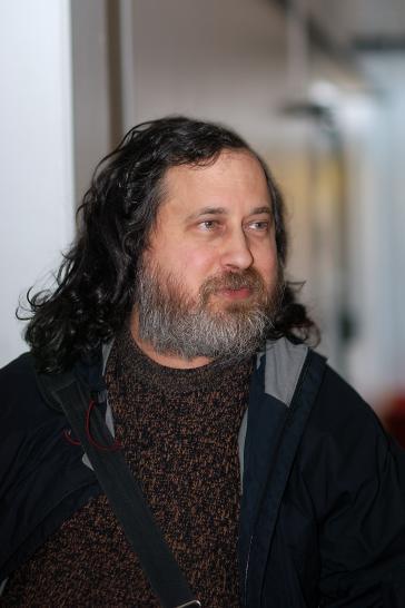 Will die bolivianische Regierung beraten: Richard Stallman