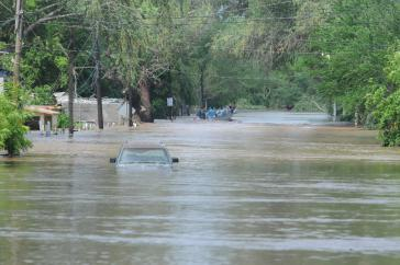 "Schäden durch den Tropensturm ""Manuel"" im Norden Méxikos"