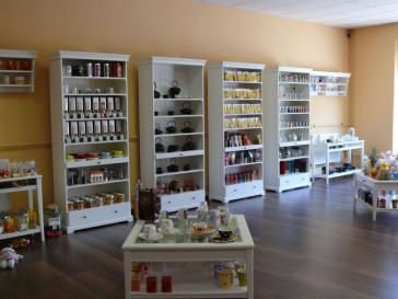 Blick in den Teeladen Herzberg