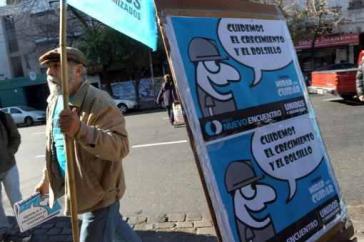 Aufklärung über Konsumentenrechte in Buenos Aires