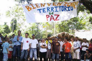 Bewohner von Tibú fordern eine geschützte Zone für Kleinbauern