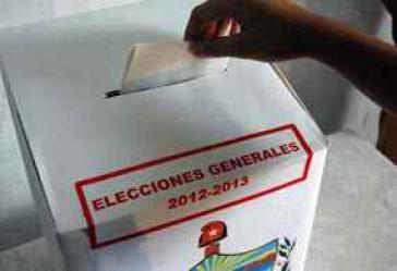 Wahlurne für die Parlamentswahlen
