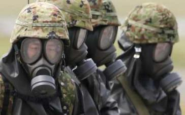 US-Soldaten bei der Erprobung chemischer Waffen