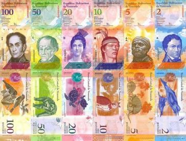 Zum 1. Januar 2008 wurde der Bolívar Fuerte eingeführt. Gegenüber dem alten Bolívar wurden drei Nullen gestrichen.