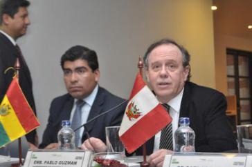 Boliviens Vizewirtschaftsminister Pablo Gúzman
