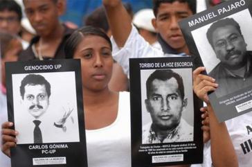 Überlebende aus den Reihen der UP fordern Wahrheit, Gerechtigkeit, umfassende Wiedergutmachung und ein Ende der Straflosigkeit